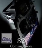 FUTABA T32MZ 2.4GHz + R7108SB HiEnd Fernsteuersystem mit Dual Display und Potless Sticks für professionelle Ansprüche