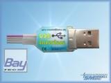 USB Interface einzeln für UniLog 1+2, GPS-Logger 1+2, InfoSwitch, UniSens-E