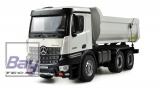 Mercedes Arocs LKW Kipper PRO Metall 1:18, 2,4GHz RTR weiß